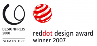reddot design award winner 2007